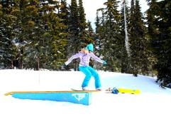 Danielle Timberline Boardslide